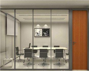 集宁内蒙古办公室玻璃高隔断