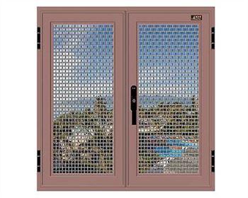 防盗窗纱窗一体的特点和作用