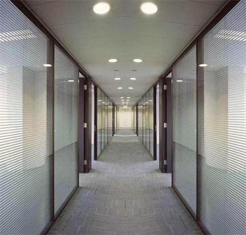 办公室玻璃高隔